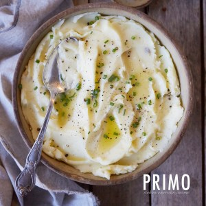 Primo Baked Three Cheese Mashed Potatoes