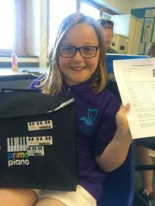 Students work towards ABRSM piano examinations