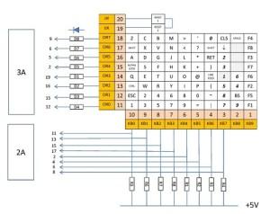 Laptop Keyboard Circuit Diagram  Somurich