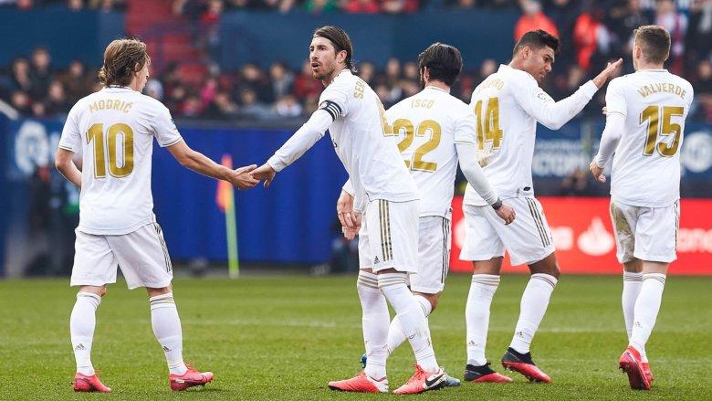Jucătorii lui Real Madrid. Sursă foto: goal.com
