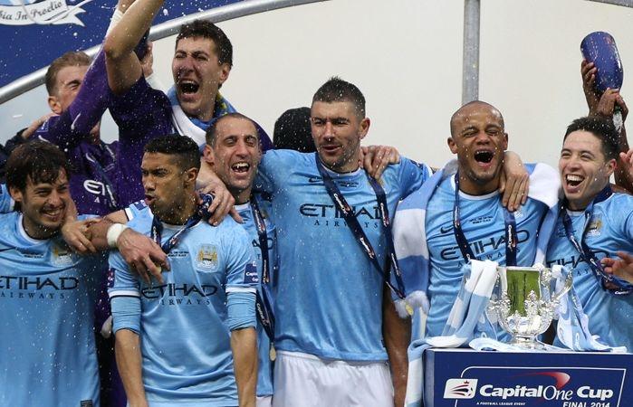 Costel Pantilimon la Manchester City. Sursă foto: ziare.com