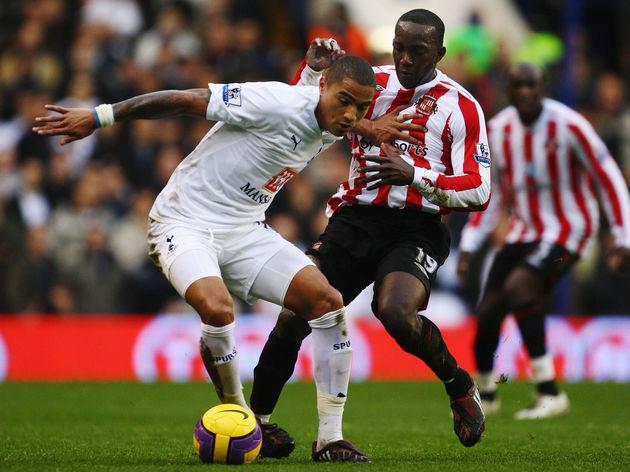 Kevin Prince Boateng în tricoul lui Tottenham. Sursă foto: 90min.com