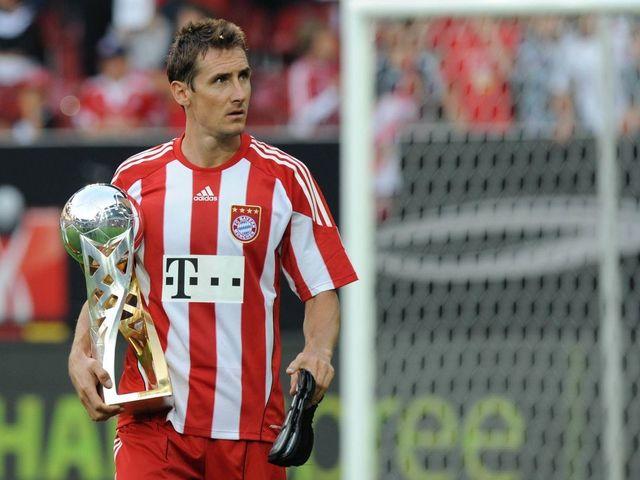 Miroslav Klose la Bayern Munchen. Sursă foto: goal,com