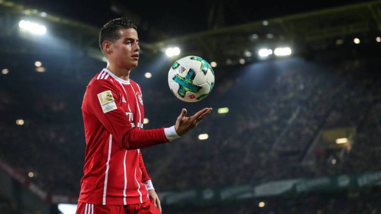 James Rodriguez la Bayern. Sursă foto: apnews.com