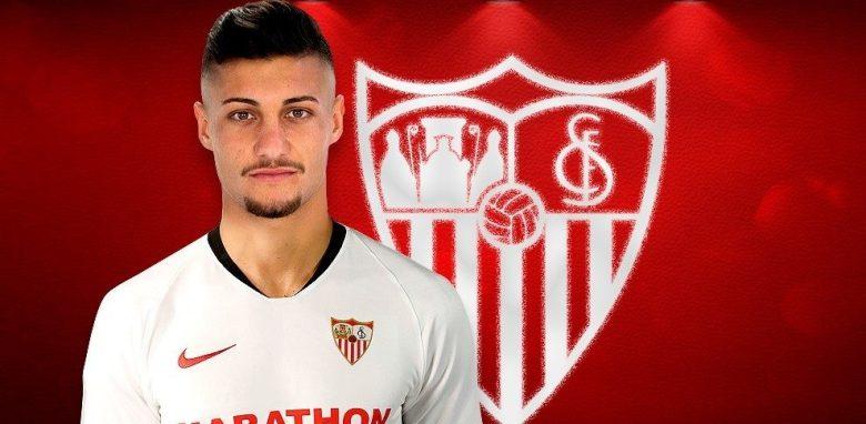 Oscar Rodriguez la Sevilla. Sursă foto: marca.es