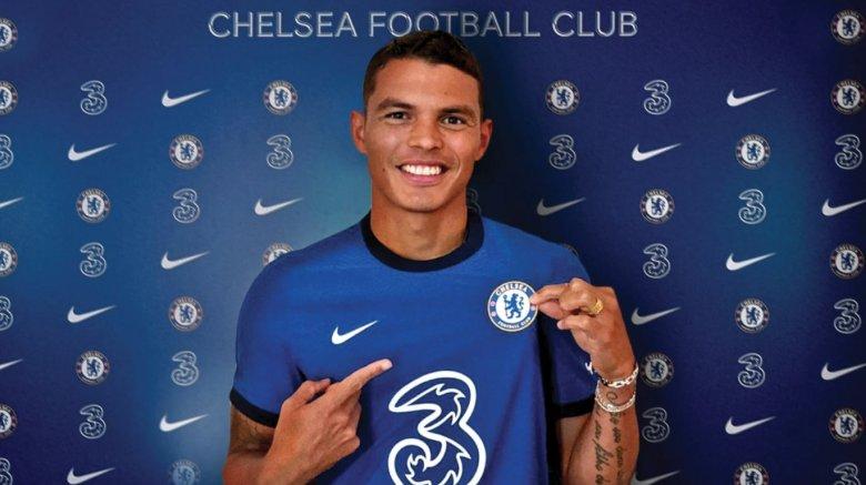 Thiago Silva la Chelsea. Sursă foto: chelsea.com