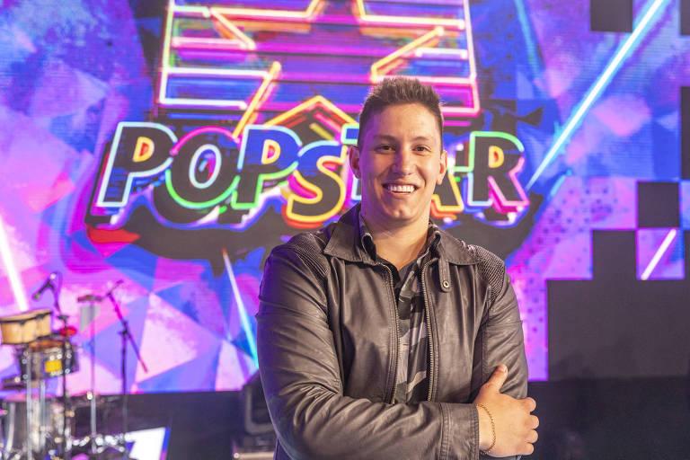 Jakson Follmann la Popstar. Sursă foto: agora.folha.br