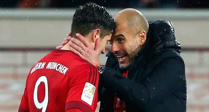 Guardiola îl laudă pe Lewandowski. Sursă foto: goal.com