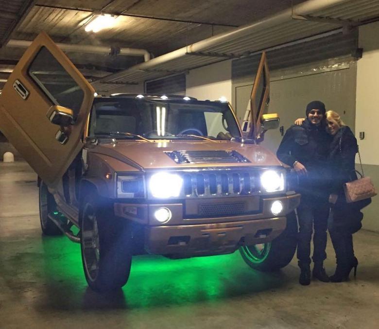 Hummerul lui Icardi. Sursă foto: goal.com