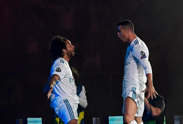 Marcelo și Cristiano Ronaldo. Sursă foto: goal.com