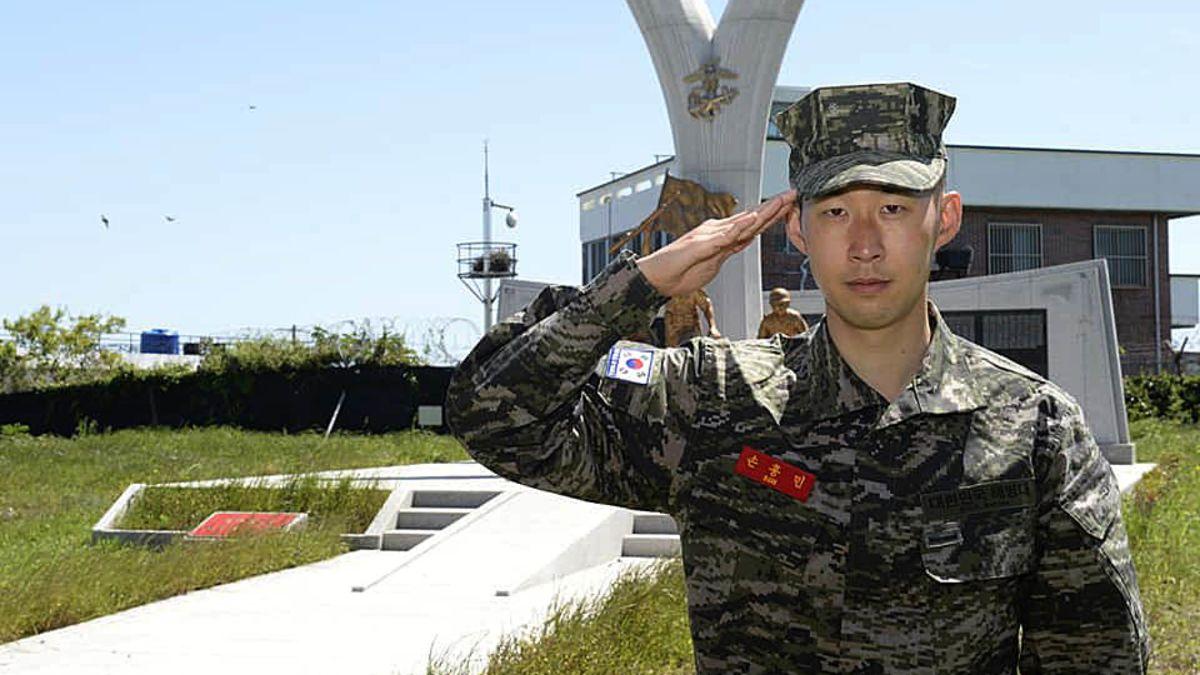Amintirile lui Son din stagiul militar din Coreea de Sud. Sursă foto: cnn.com