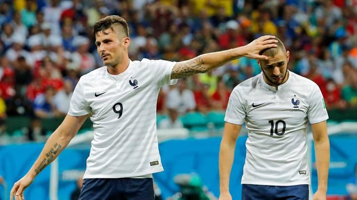 Giroud nu a semnat cu Lyon din cauza lui Benzema. Sursă foto: goal.com