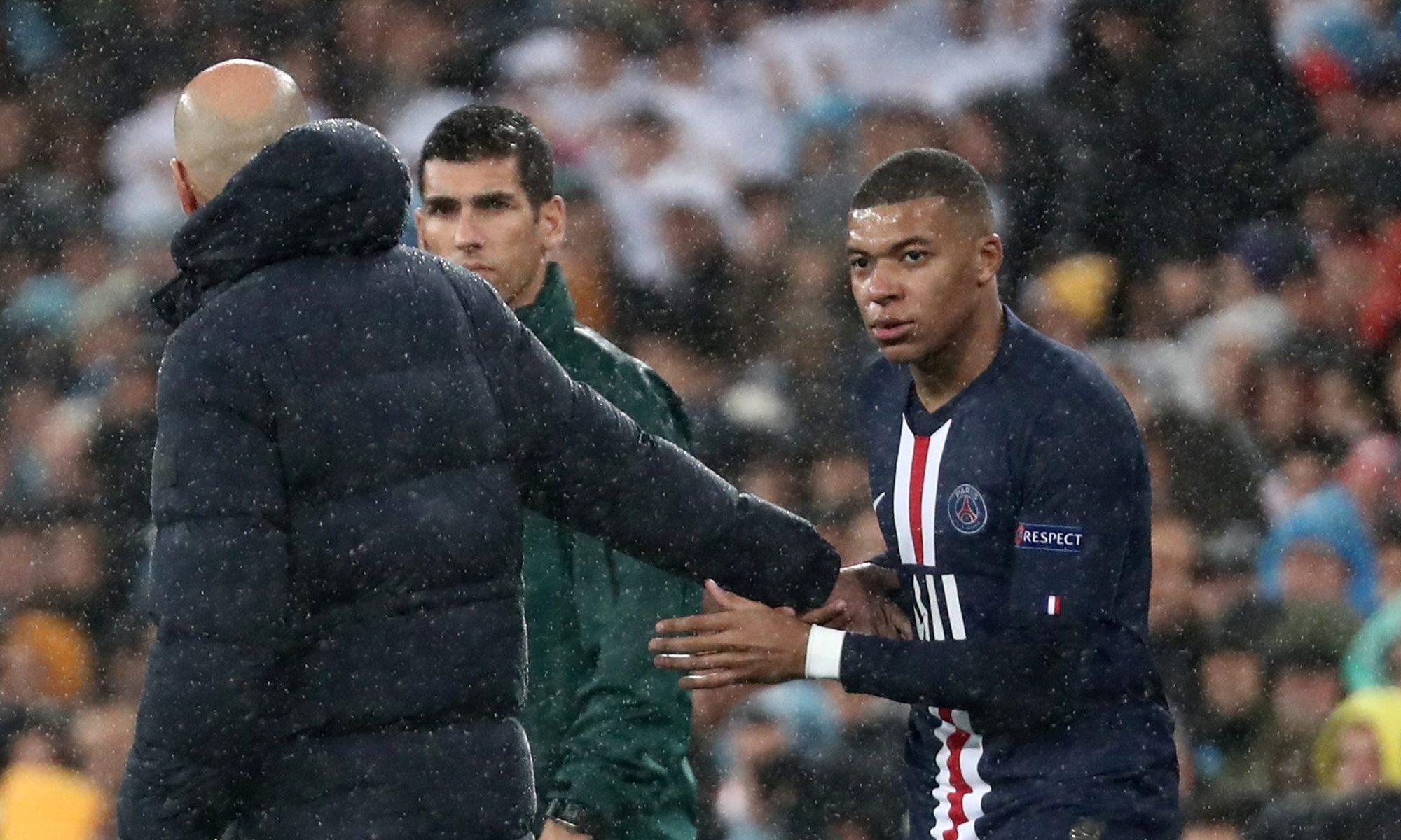 """Prima întâlnire a lui Mbappe cu Zidane: """"Să mă descalț?"""". Sursă foto: goal.com"""