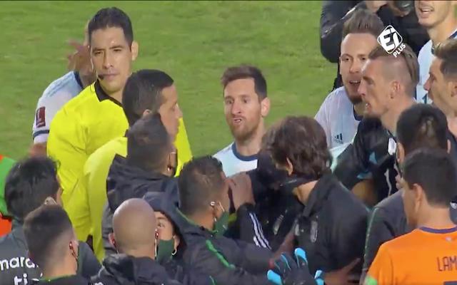 Messi, insultat de preparatorul fizic al Boliviei. Nu i-a rămas dator. Video. Sursă foto: goal.com