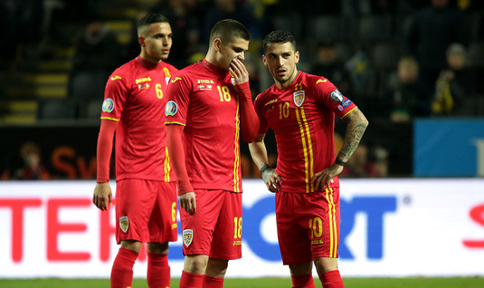 Jucătorii naționalei României. Sursă foto: gsp.ro