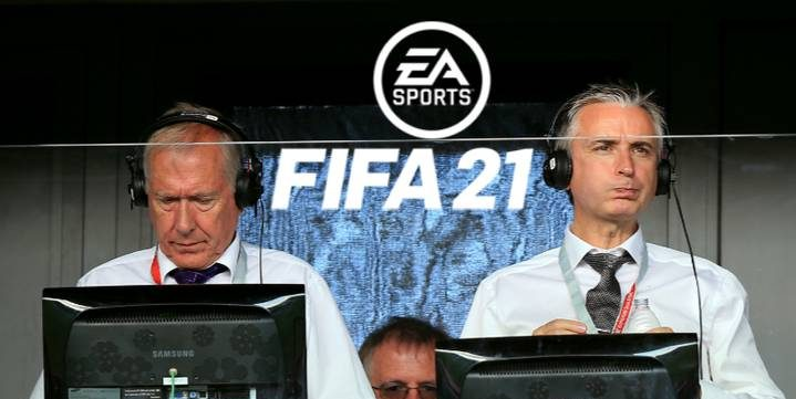 Martin Tyler și Alan Smith au fost înlocuiți în FIFA 21. Sursă foto: goal.com