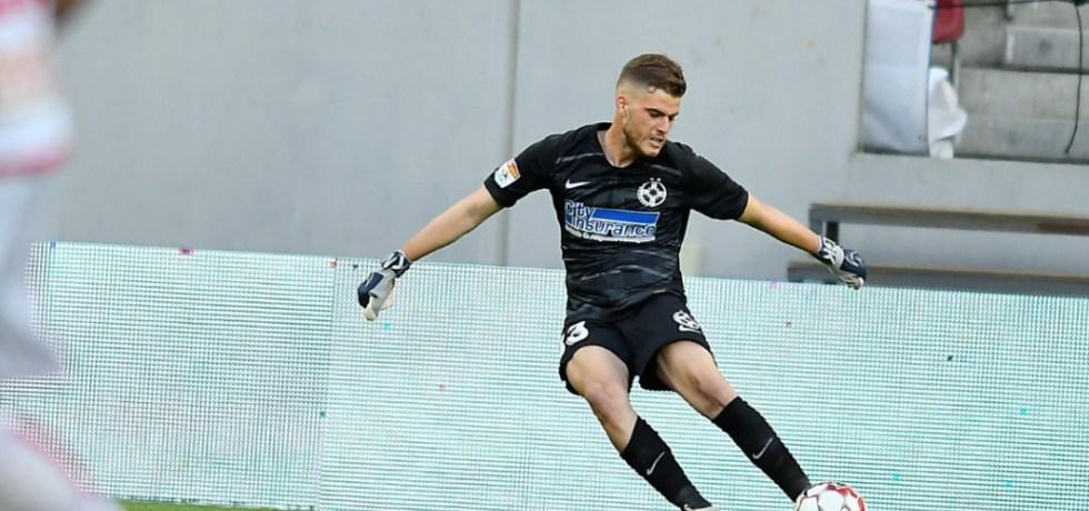 Reacția lui Mihai Stoica după golul din poartă în poartă a lui Răzvan Udrea. Sursă foto: sportpictures.eu
