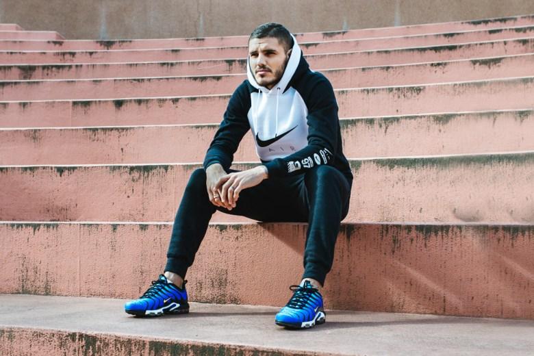 Reclamă Nike făcută de Icardi. Sursă foto: pinterest.com.