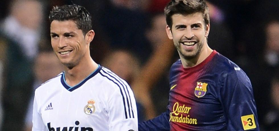 Prietenia adevărată dintre Cristiano Ronaldo și Gerard Pique. Sursă foto: goal.com