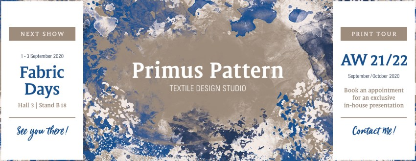 PrimusPattern Collection AW21/22 – NextShow & PrintTour