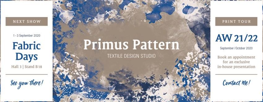 PrimusPattern Collection AW21/22 – NextShow & PrintTour