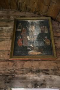 Ikonenmalerei von 1800 in Crivina de Sus Kirche