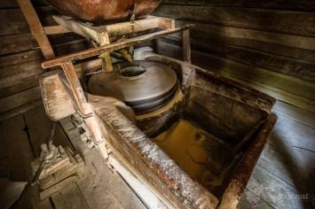 Inside the Firiz watermill
