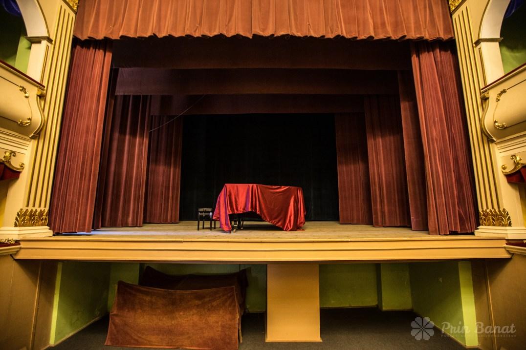 Das alte Mihai Eminescu Theater aus Oraviţa
