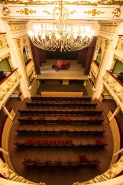 The Old Mihai Eminescu Theatre in Oraviţa