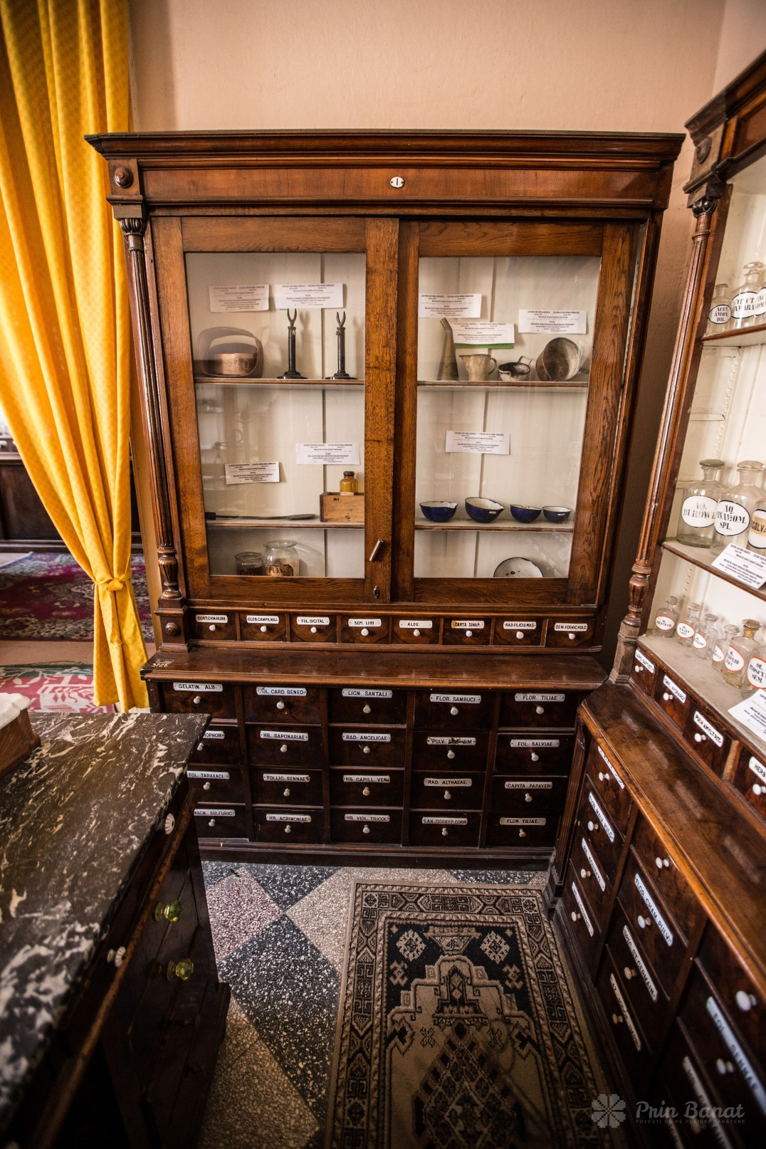 The Historical Pharmacy Museum in Oravița