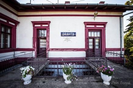 The Oraviţa train station