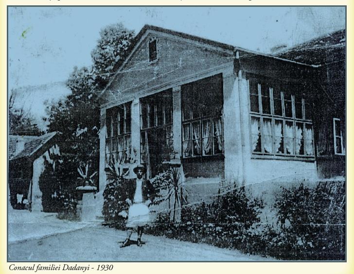 Conacul Dadányi la 1930. Sursă foto: Vasile Traia, Vasile D. Suciu - Nadăş. Repere istorice, Eurostampa, 2011.