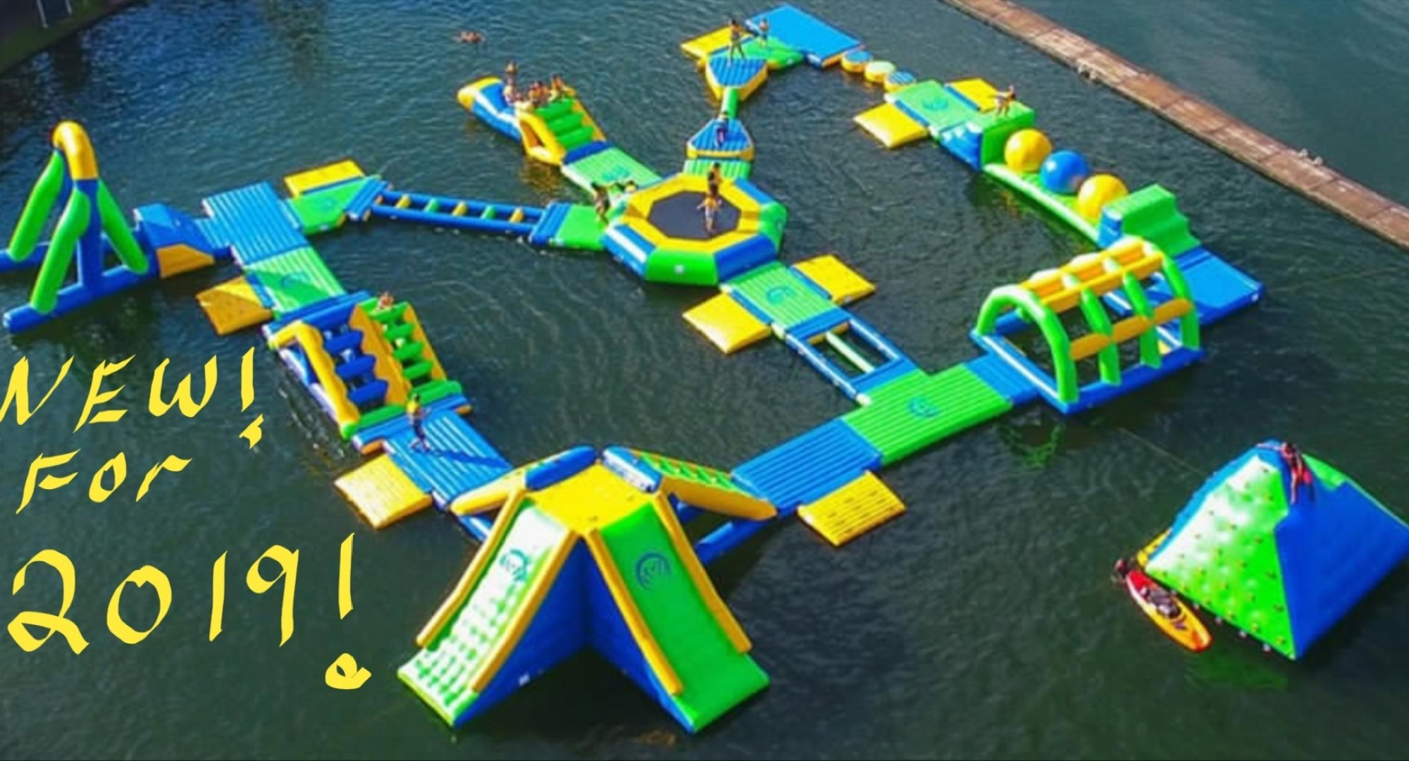 NEW FOR WEST LAKE WILLY WATER PARK SANDBAVNKS