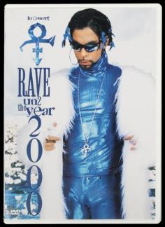 prince blue poster RAve un2 the year 2000 Princefan046.com