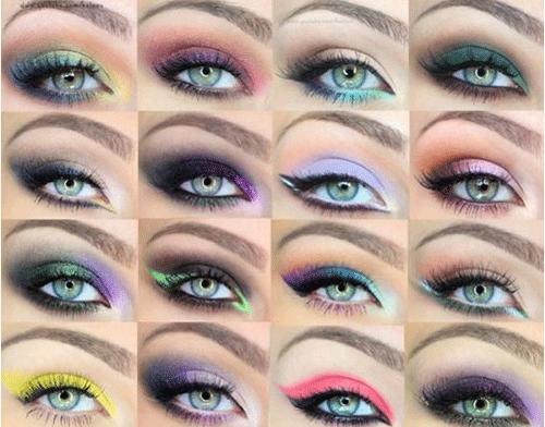 Make Up Für Grüne Augen Arten Von Braunen Eyeliner Wie Man