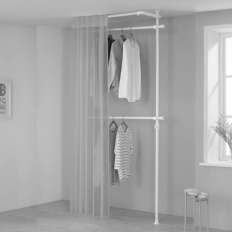 prince hanger curtain set clothing rack