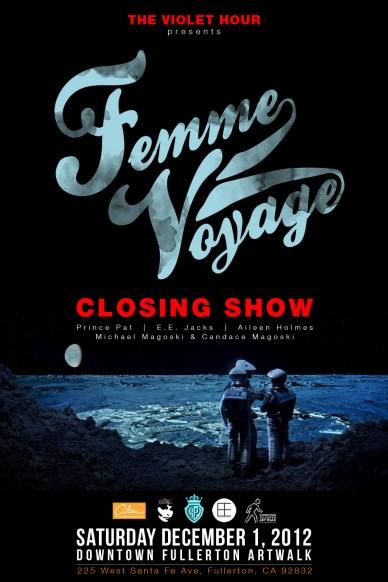 femme voyage poster closing