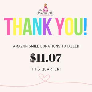 Amazon Smile Announcement