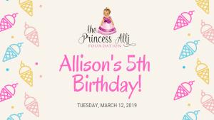 Alli's 5th Birthday Pink Wagon Fundraiser