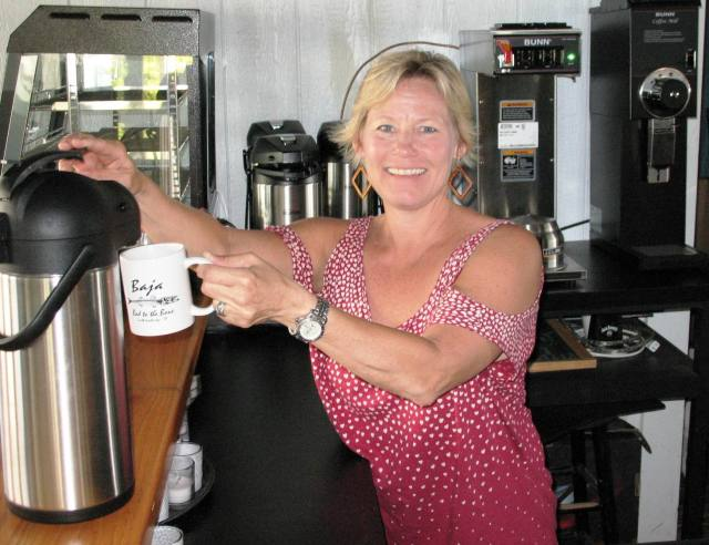 Anne Gassett is opening Baja Coffee Company with her husband. [Janet Yarbrough Meyer/The Princess Anne Independent News]