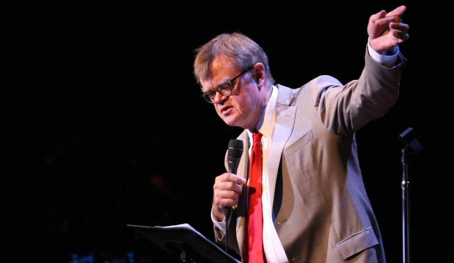 Garrison Keillor is featured this coming week during the Old Dominion University Literary Festival. [Claudia Danielson/American Public Media]