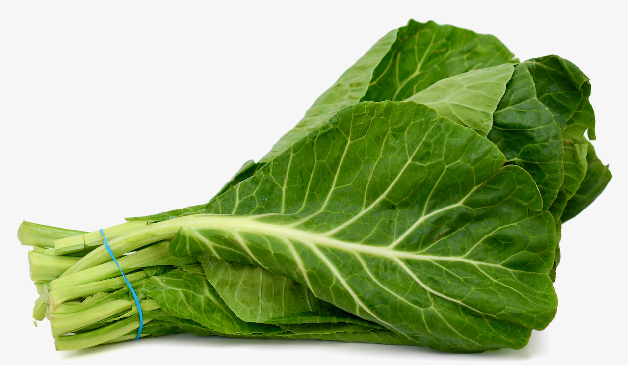 Farmer John: Collard greens are local, durable, tasty and very unafraid of weather some avoid