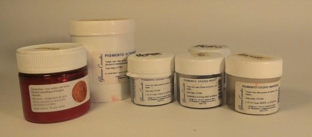 pigmenti inorganici