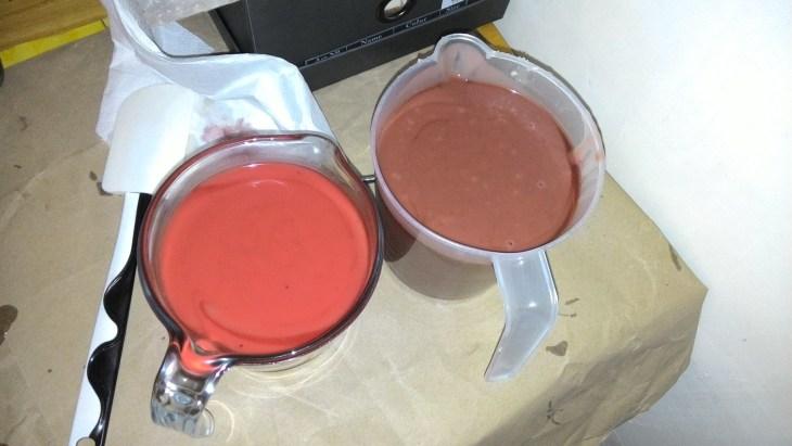pasta di sapone colorata
