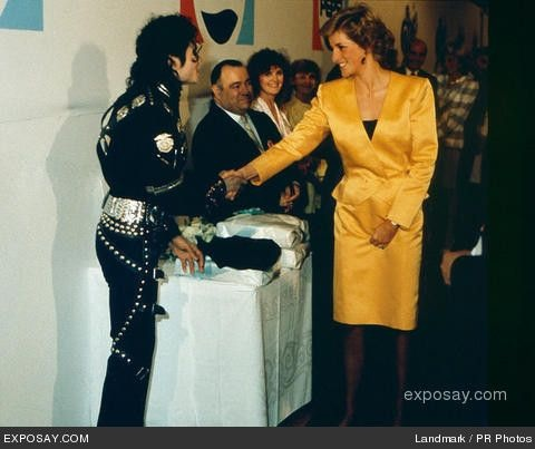 16 JULY 1988 PRINCE CHARLES Amp PRINCESS DIANA ATTEND A MICHAEL JACKSON CONCERT IN AID OF THE