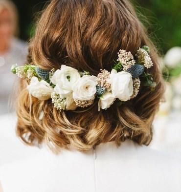 Rövid haj az esküvőn