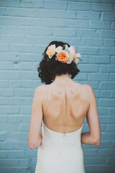 Short hair bride07