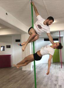 Champion de pole dance