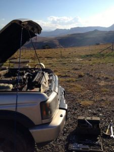Fixing The Landy. Again. | South African road trip