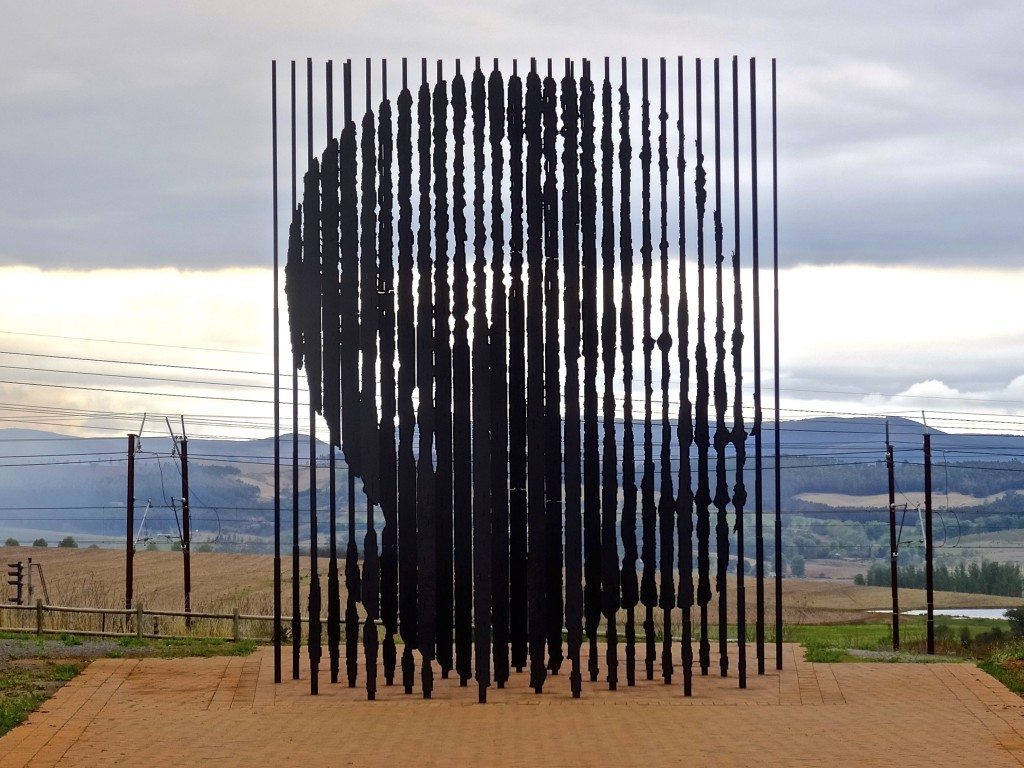 Nelson Mandela's monument in South Africa